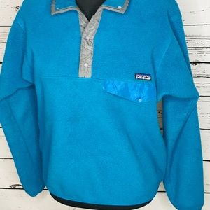 Patagonia pullover snap fleece size medium GUC
